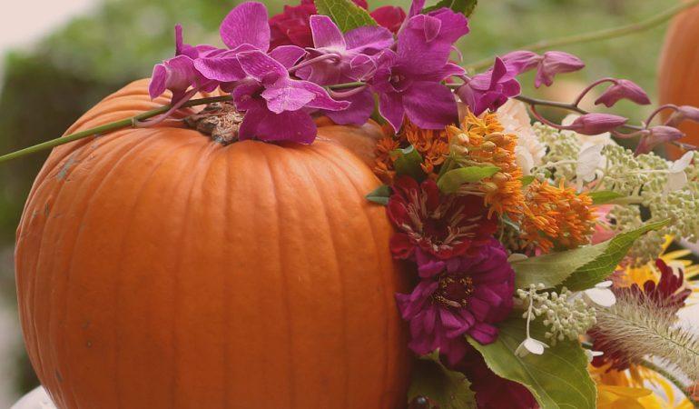 Есенни идеи за булчинския букет