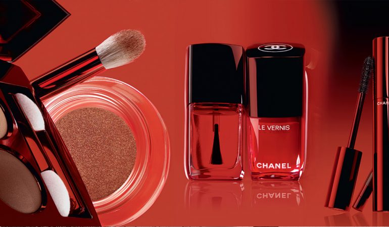 CHANEL & червено обагрена есен
