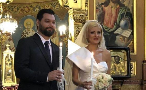 """Водещата на """"По света и у нас"""" Филипа Иванова се омъжи за програмния директор на БНТ Ивайло Огнянов"""
