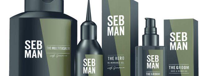 SEB MAN – грижа за косата & стилизация